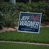 Political sign in neighbor's yard across street and one house to the right.  ISO800, 600mm.