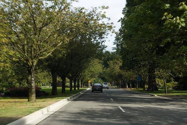 Entering British Properties, the Palos Verdes of Vancouver