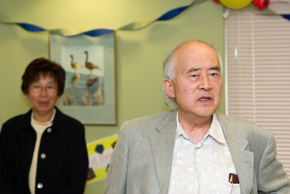 Someone of significance at the Nikkei Home describes Ojiichan's generosity to their community