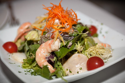 Seafood Salad...with a very tasty miso dressing