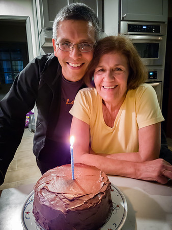 It wouldn't be a proper birthday without a chocolate cake from mom Gotta get my free Kona Pie! (Photo by Valerie Iwasaki)