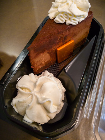 Say what you will about The Cheesecake Factory, but their Godiva Chocolate Cheesecake is still one of the best desserts