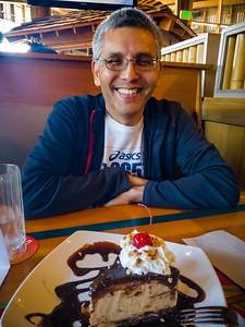 Of course we're here because I get a free Kona Pie for my birthday! (Photo by Valerie)