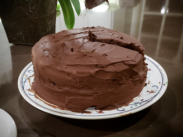A birthday without mom's chocolate cake would not be the same