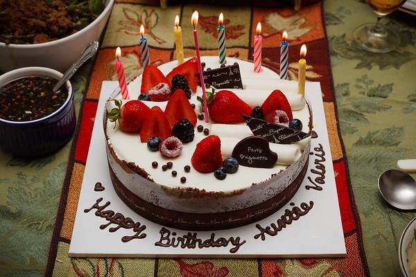 Valerie's birthday cake