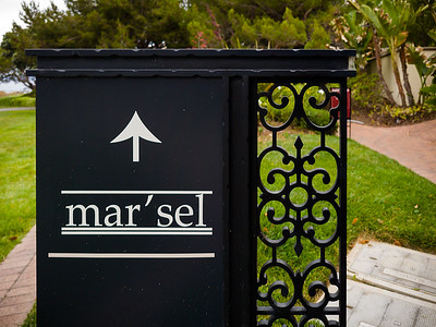 For my second birthday dinner, Valerie and I have reservations at mar'sel...a fine dining restaurant at Terranea Resort