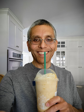 A weekday birthday that coincides with the approach of a work deadline totally justifies ordering a crazy multi-shot Venti Caramel Frappuccino...especially because Starbucks limits redemption of such reward beverages to one's birthday.