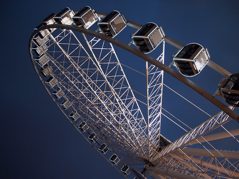 Manchester's observation wheel