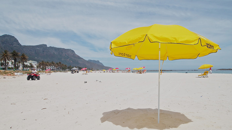 Camps Bay is the home of expensive real estate and expensive people including Ophra Winfrey, Morgan Freeman and Leonardo DiCaprio.