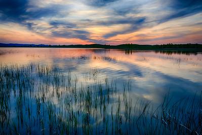 Spring at Bear Butte Lake