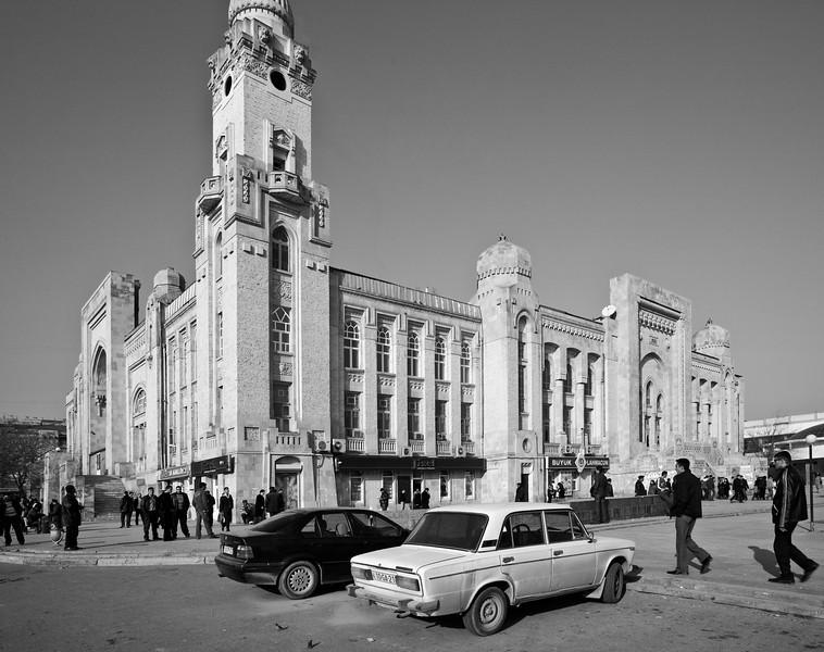 Former Steam Railway Station Baku