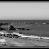 Northern CA. Coast in BW
