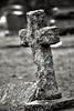 A Cross in Black & White