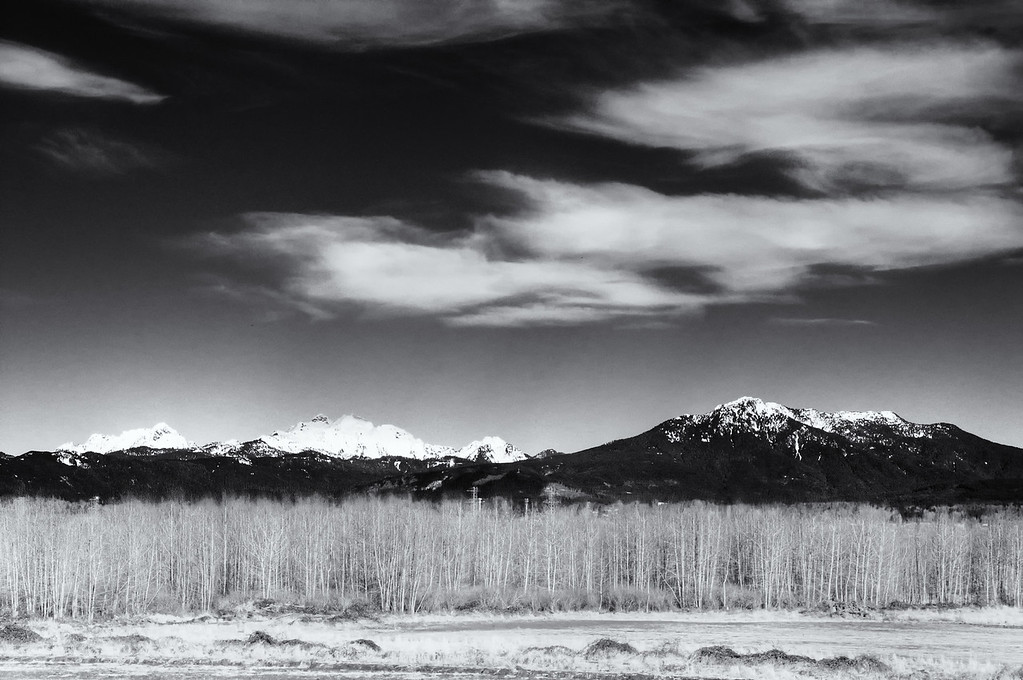 North Cascades from Snohomish Valley