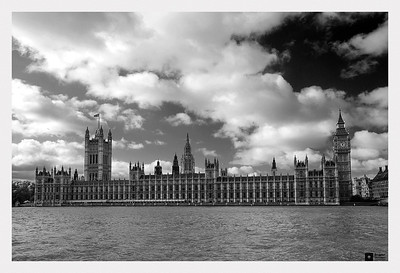 Victoria Tower, Palace of Westminster, and Elizabeth Tower.