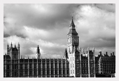 Palace of Westminster and Elizabeth Tower.