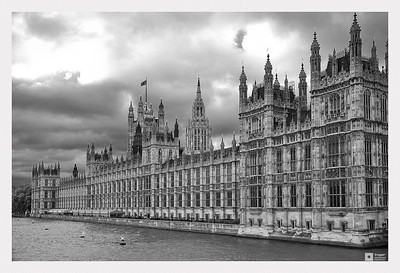 The Palace of Westminster - The House of Parliament.