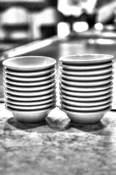 Mar 21<br /> Waiting<br /> Late upload today...Busy at work this week so haven't had time to get out and get a spring shot! Plus had to buy a new tv Tuesday, so yet another distraction! Anywho, from the archives, a shot taken at dinner a couple of months ago of cute little sauce bowls.<br /> <br /> Thanks for stopping by! Will try to catch up on commenting later today!