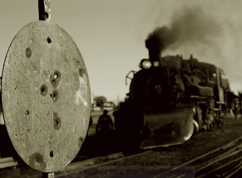 Cumbres & Toltec narrow gauge Railway, <br /> Northern New Mexico.