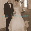 """This couple were getting married in the Floridian Resort Hotel in Walt Disney World.  I was on vacation, but seeing a bride I rushed over and took their picture.  <br /> Since the Floridian is a based on the Victorian Era, I gave this photo that """"Old World"""" look."""