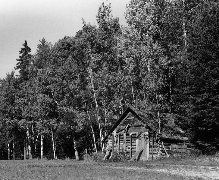 Went out on this day to get some photos of the fall colours. With b&w film. <br /> <br /> Minolta XD-11, coupled with a Minolta 50mm 1.2 lens. <br /> <br /> ORWO UN54 developed in HC-110 for 47 minutes at 18.5C using dilution 'M' (1:250).