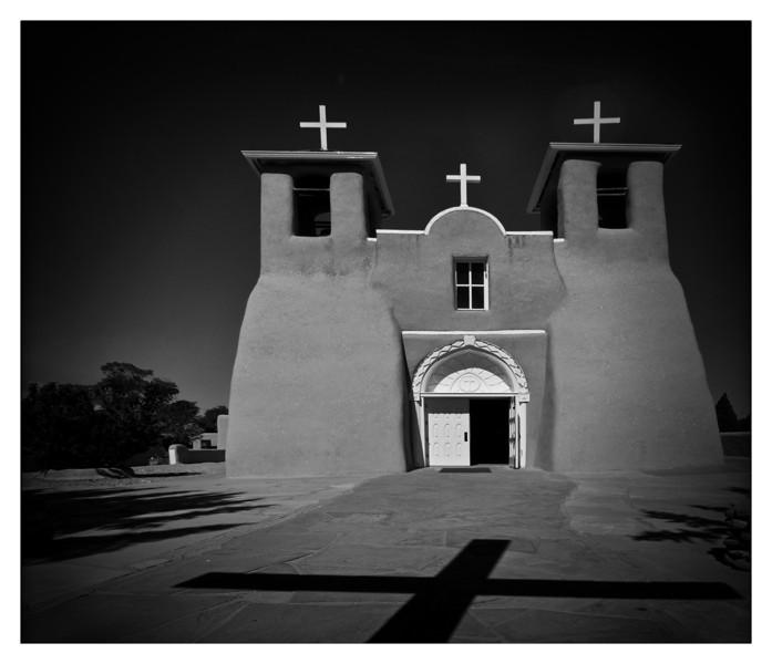 San Franciso de Asis Church<br /> Built in the 1700's<br /> Taos, New Mexico