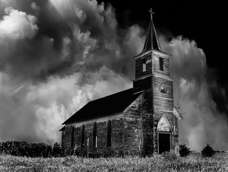 Nebraska 1800's Church on the Prairie