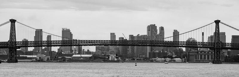 The Williamsburg Bridge, New York City