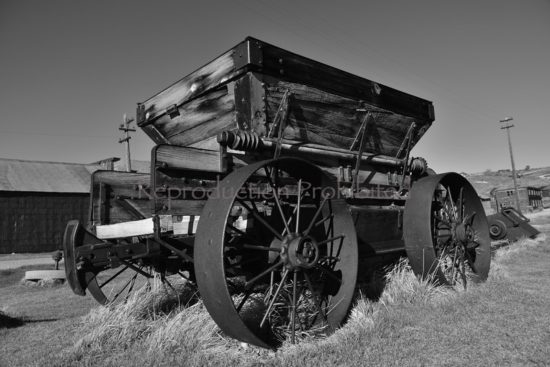 Gold Ore Wagon Bodie, CA. Spring 2014