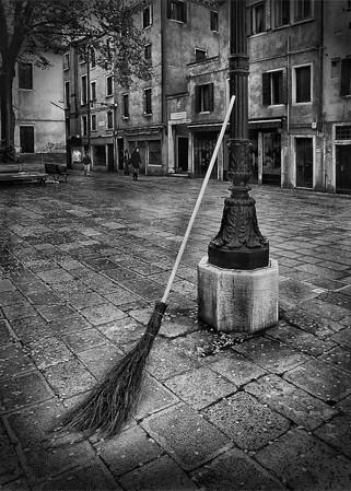 Waiting  Venice, Italy