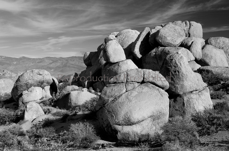 Ancient Ones Buttermilks, Eastern Sierra, California December 2012