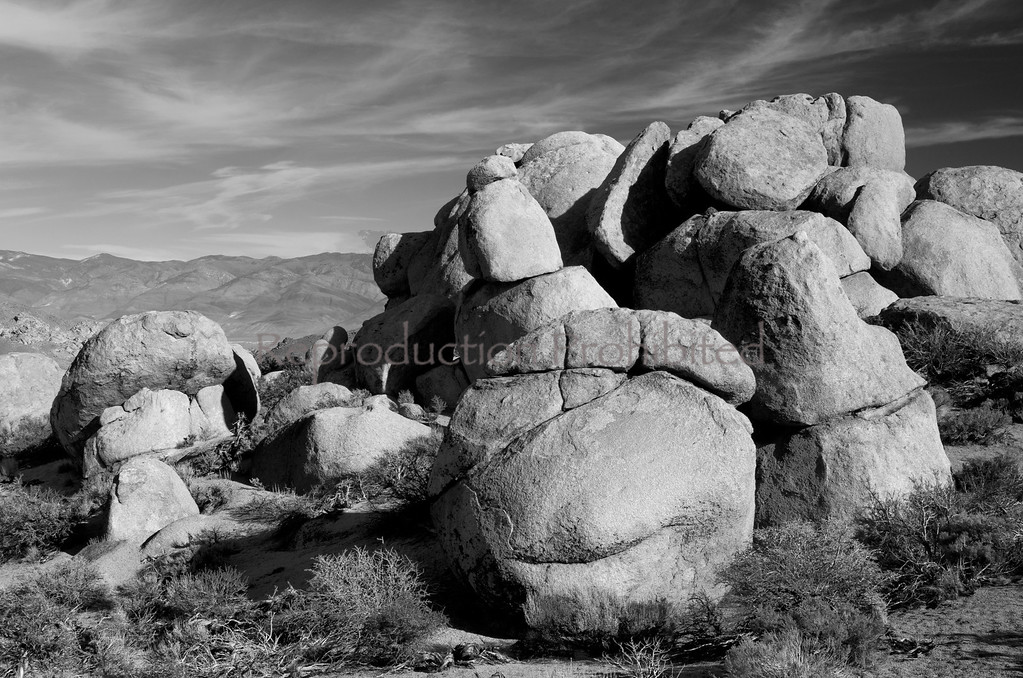 Ancient Ones Buttermilks, Eastern Sierra, California December 2012