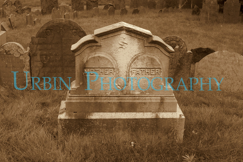 A tombstone in one of the historic graveyards in Lexington, MA. Since this is a very old graveyard, I went with the Sepia and film noise.