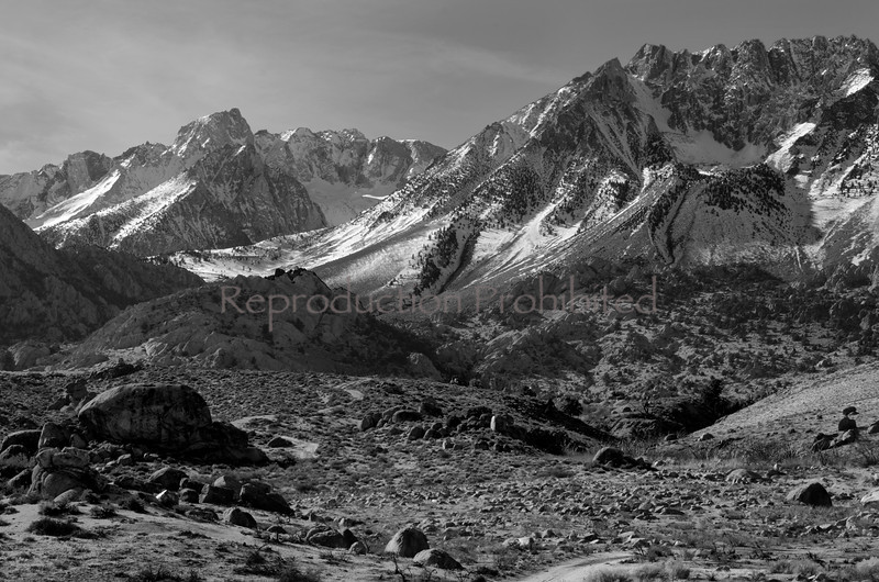 Edge of the Great Basin Buttermilk area, Eastern Sierra, California December 2012