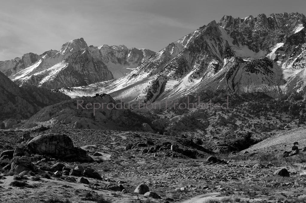 Edge of the Great Basin Buttermilk area, Eastern Sierra, California December 2012