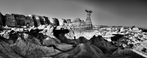 The Toadstools in Page, Arizona