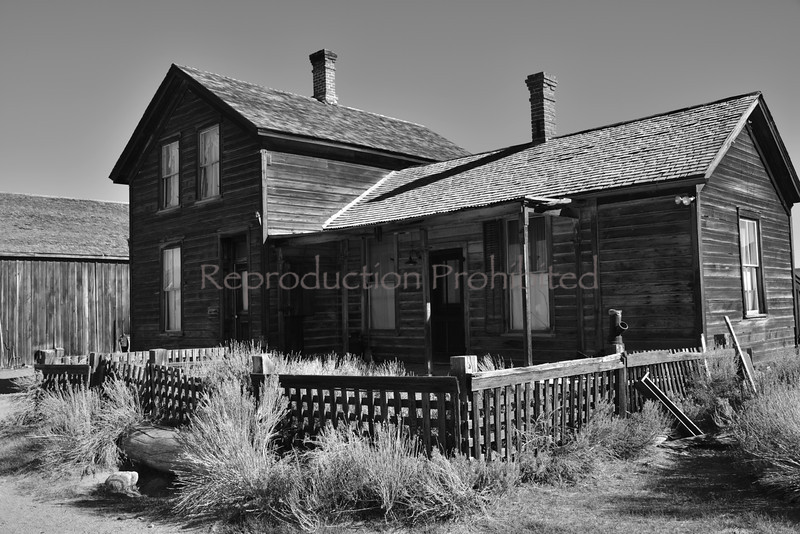 Homestead Bodie, CA. Spring 2014