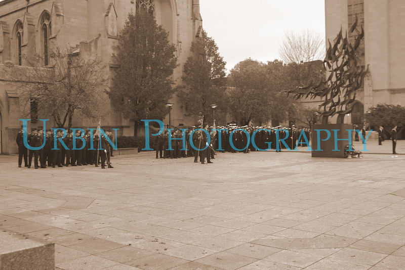 2008 Boston University ROTC Veterans Vigil. I went for the old time photo look. Big Gothic buildings, military personnel with swords...it seemed to fit.