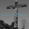 Crucifix at St. Luke's Cemetary