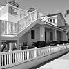 Nice Home Near the Wedge in Newport Beach California black and white