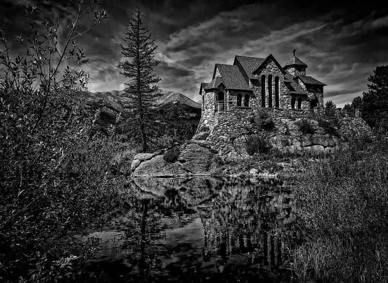 St Malo Church<br /> Near Estes Park Colorado