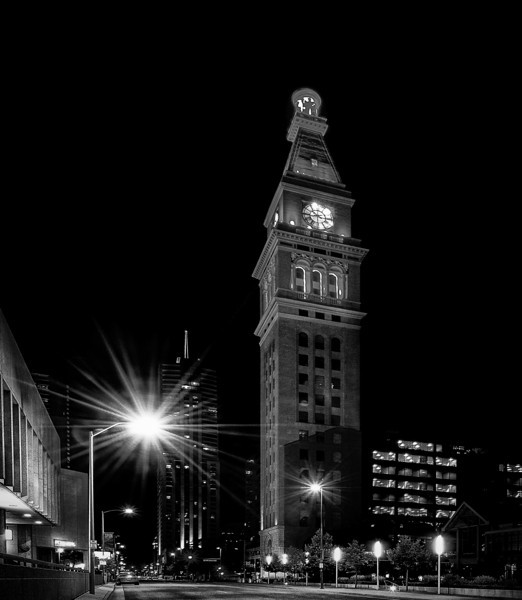 Historic D & F Clock Tower Denver