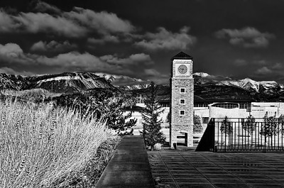 The watchtower at Fort Lewis College in Durango, Colorado