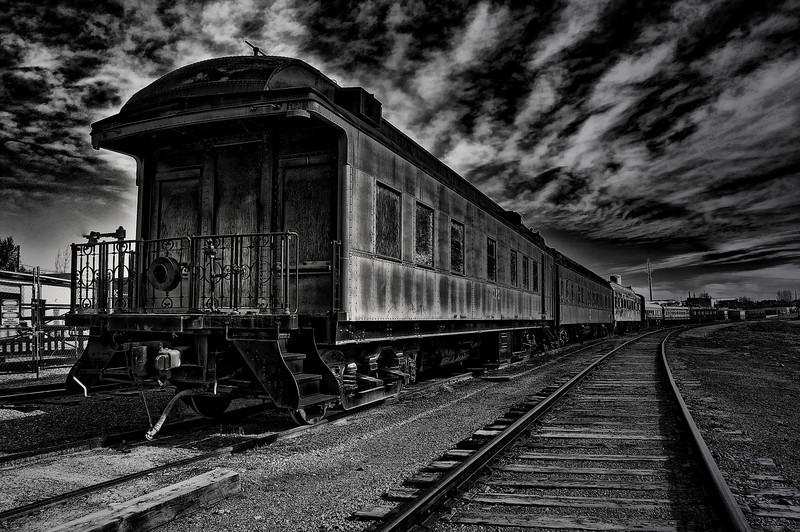 """Train to No Where""<br /> Mead, Colorado"