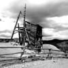 Sallie Barber Mine Near Breckenridge CO 2 black and white