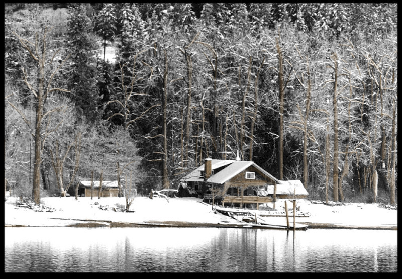 Lake house, Coeur D'Alene, Idaho