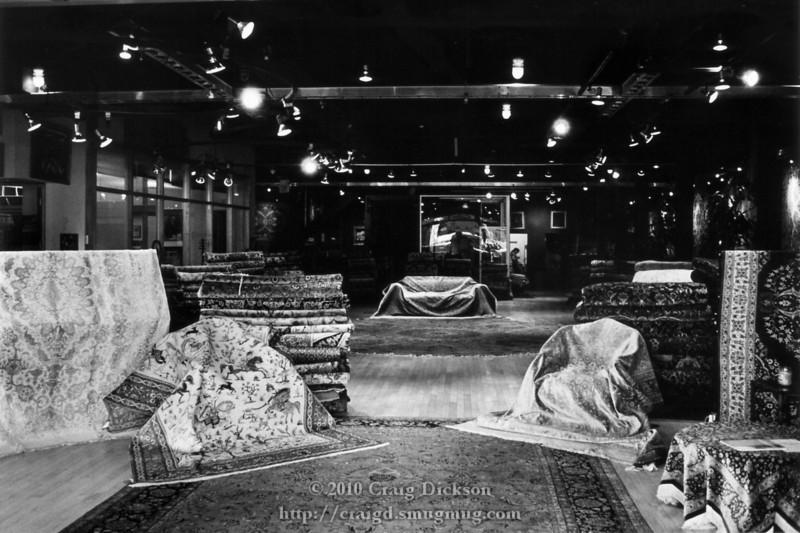 Oriental rug shop, Palo Alto
