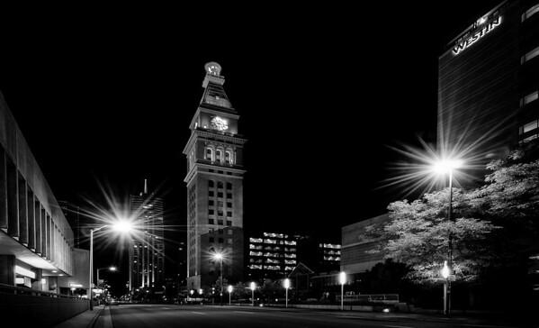Denvers' Historic D & F Clock Tower