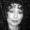 Cher Look A Like in Las Vegas NV black and white