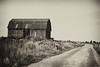 Went out to get some photos for my first time of developing negs my self and came across this barn fairly close to town.<br /> <br /> Leica M5, Canon 50mm 1.8 lens, Kodak Tmax 400 developed in D76. I also added some effects from Silver Efex Pro to give it a more vintage look.